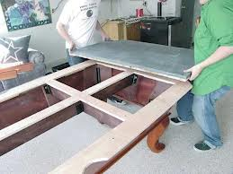 Pool table moves in Evansville Indiana