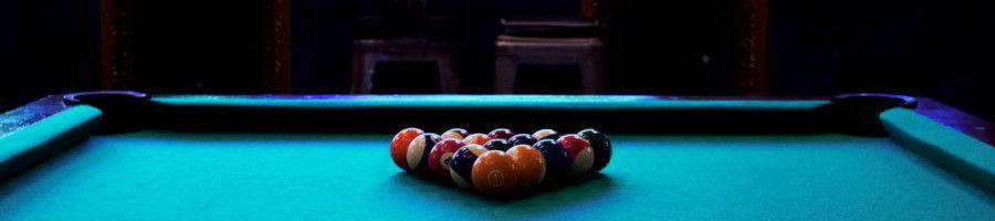 Evansville pool table room size featured