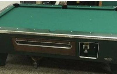 Pool Table Valley Coin Operated