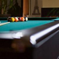 Eliminator Pool Table