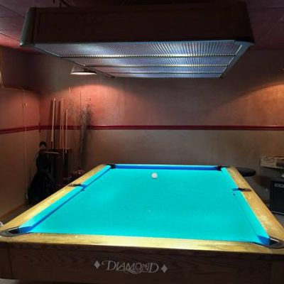Professional Pool Table With Light