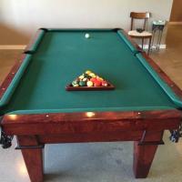 Mahogany Pool Table