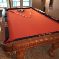 Drop Pocket Slate Pool Table