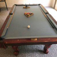 AMF Play Master Pool Table Grey Felt